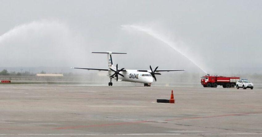 Аэропорт «Манас» принял первый рейс авиакомпании Qazaq Air из Алматы