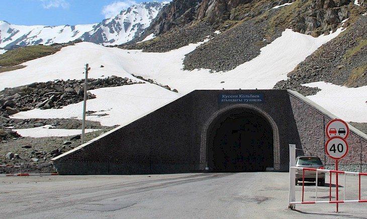 Сборы за проезд через тоннели на автодороге Бишкек — Ош выросли на 3 млн сомов