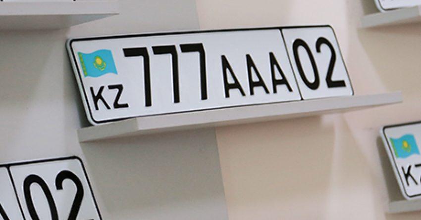 За год казахстанцы потратили больше $10 миллионов на VIP-номера для машин
