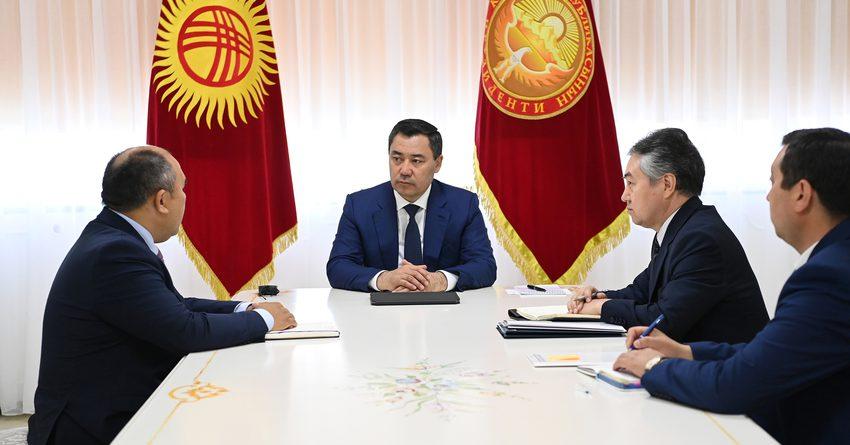Президент КР: Сотрудничество с ЕС – приоритетное направление внешней политики