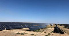 Китай и Казахстан построили солнечную электростанцию