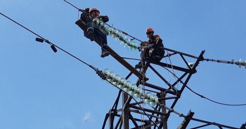 В Ошской области проводится ремонт на подстанциях и линиях электропередачи