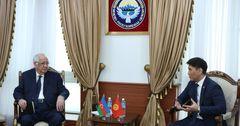 КР и Азербайджан обсудили вопросы сотрудничества