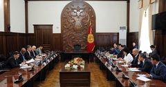 Кыргызстан и ИБР подготовят стратегическую программу сотрудничества сроком до 10 лет