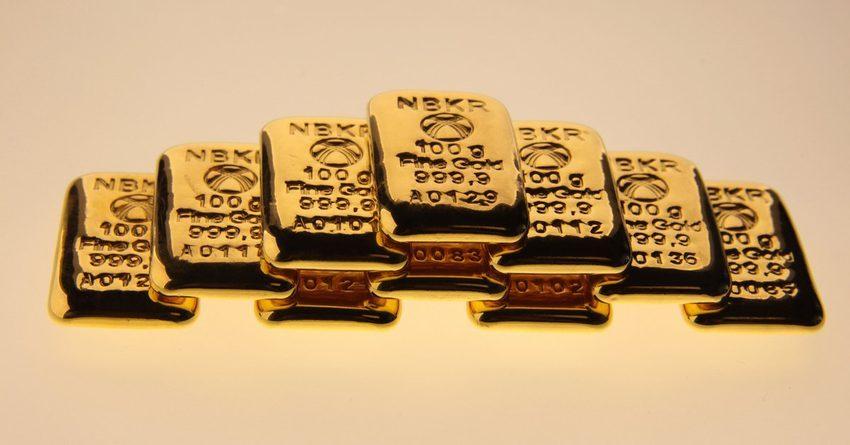 В 2019 году произведено почти 23 тонны золота