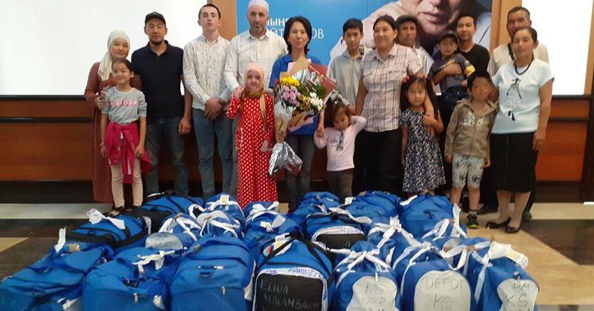 В Кыргызстан прилетели четверо детей, получивших бесплатное лечение в Германии
