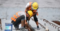 Реконструкция километра дороги Бишкек — Кара-Балта обходится в $1 млн