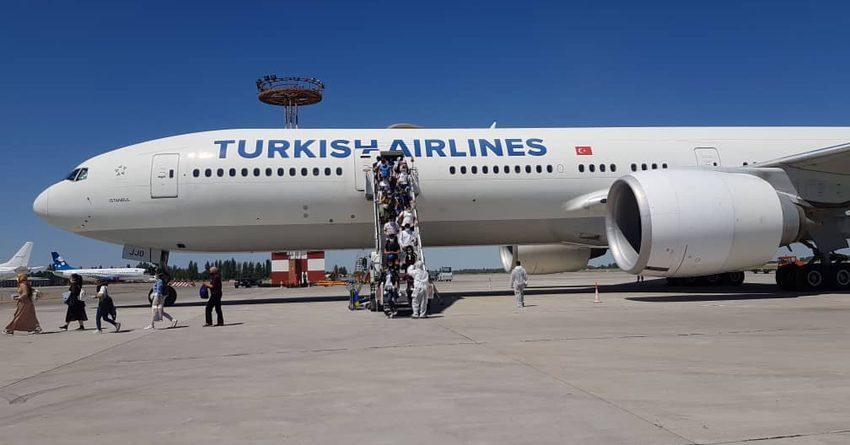 В Бишкек из Турции вернулись 326 граждан КР