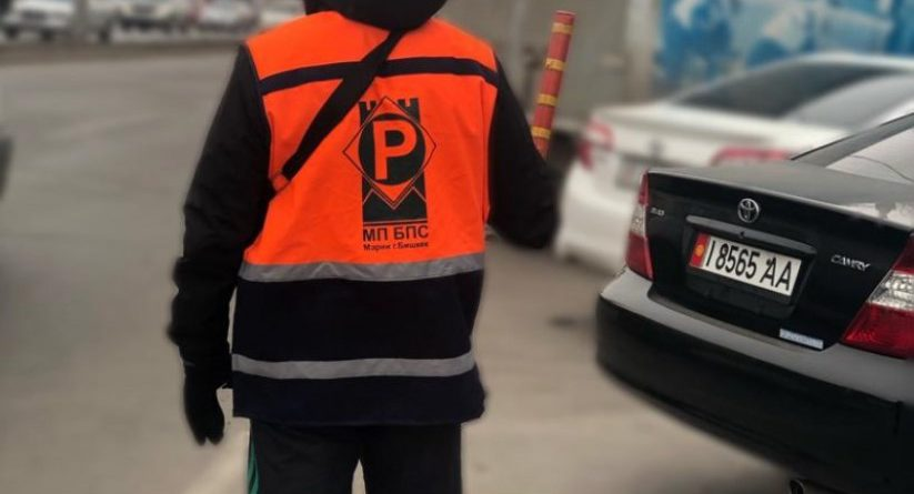 В Бишкеке могут появиться парковки без парковщиков