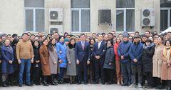 Коллектив MegaCom поблагодарил Акылбека Жамангулова за плодотворную работу