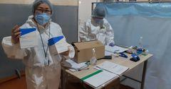 Кыргызско-Швейцарский Банк передал мэрии лекарства на 1.8 млн сомов