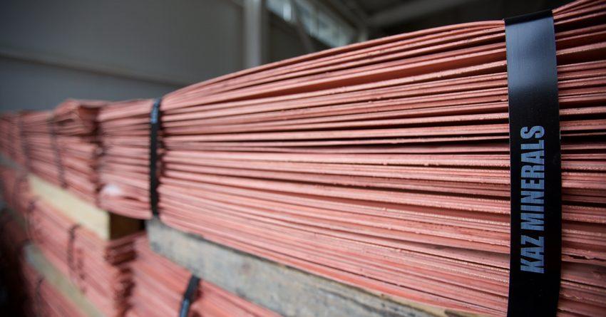 Группа KAZ Minerals за полгода произвела 147.6 тысячи тонн меди
