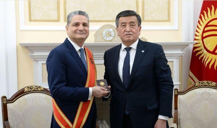 Председатель ЕЭК награжден медалью «Данк»