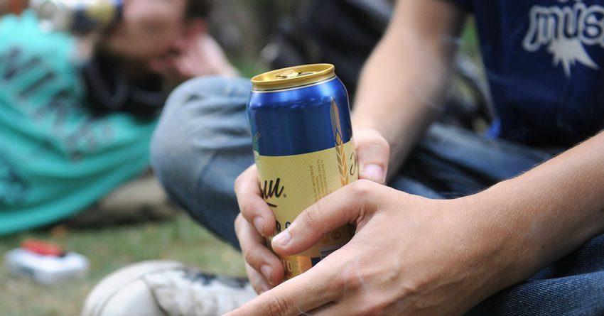 В Бишкеке молодежь оштрафовали на 33 тысячи за распитие алкоголя