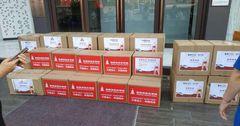 В КР отправили вторую партию гумпомощи из Гуанчжоу