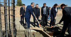 В Нарыне заложена первая капсула под строительство дома в рамках «Доступное жилье – 2015-2020»