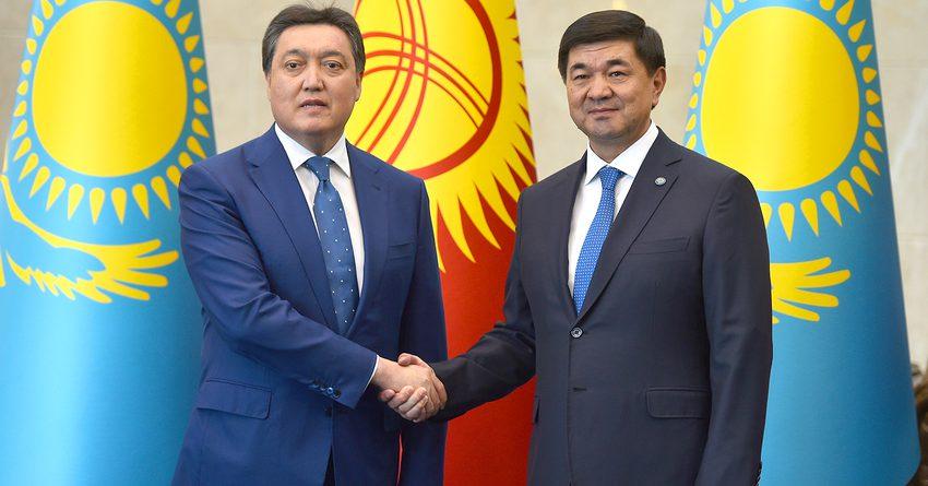 Казахстан хочет довести товарооборот с Кыргызстаном до $1 млрд