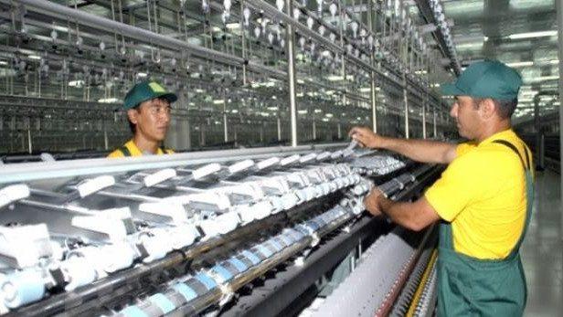 В Кыргызстане объем промпроизводства снизился на 17.9%