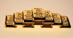 За четыре года Нацбанк реализовал более 221 кг золотых слитков