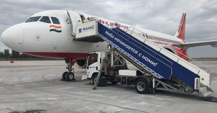 В Бишкек из Индии вернулись граждане КР