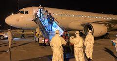 В Кыргызстан из США и Канады прибыли 146 граждан КР