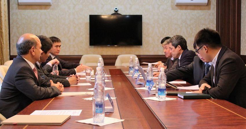 Нацэнергохолдинг и Газпром Кыргызстан обязались координировать действия по строительству сетей