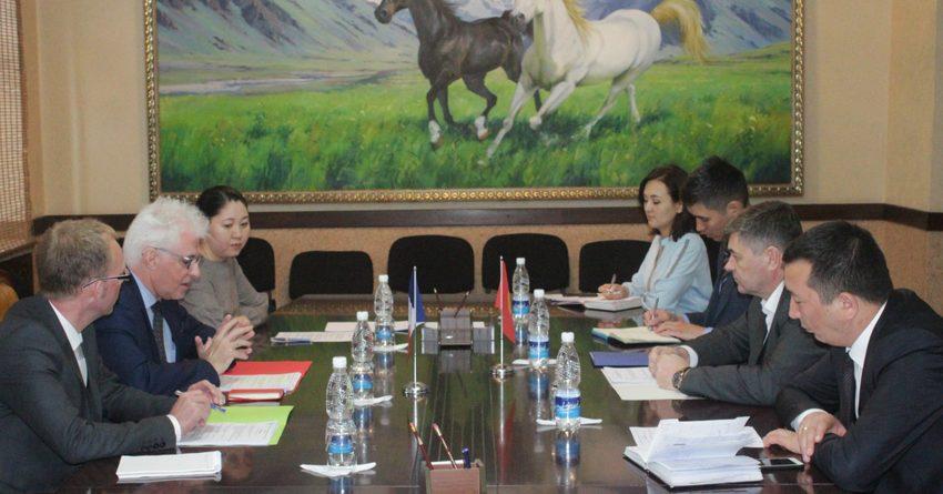 Французские инвесторы готовы вкладываться в Кыргызстан