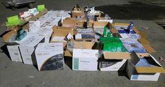 Сотрудники таможни задержали контрабанду сигарет на 1.6 млн сомов