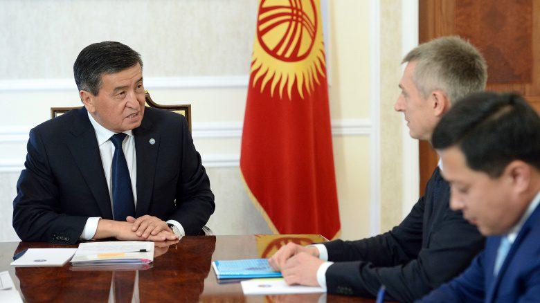 Жээнбеков обсудил увеличение энергомощностей с директором ЕФСР