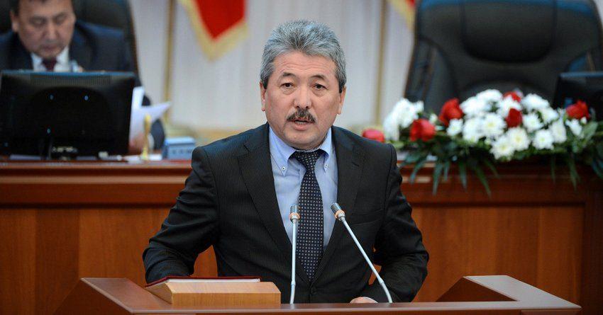 В парламенте Кыргызстана требуют отставки министра финансов