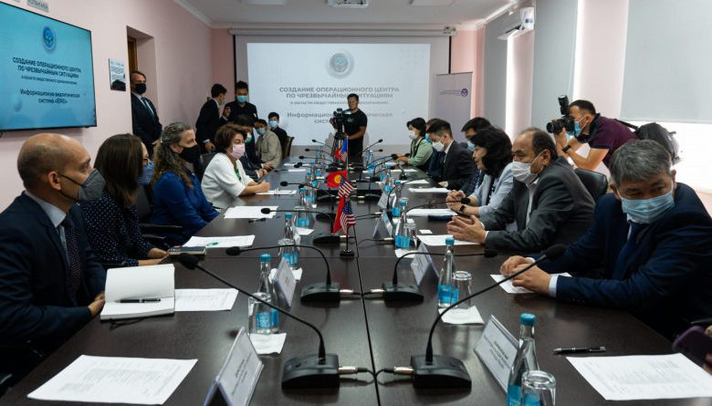 ЮСАИД жана ДССУ Кыргызстандаоперациялык борборачууга жардам берди