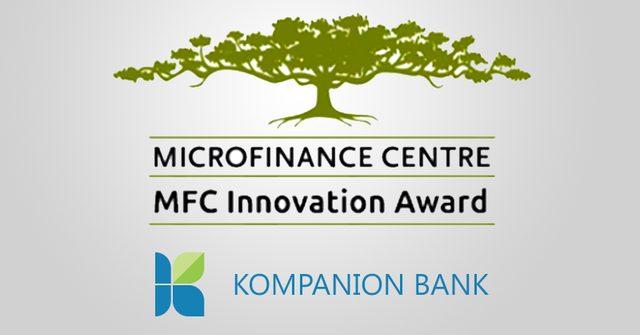 «Банк Компаньон» выиграл международную премию за инновации