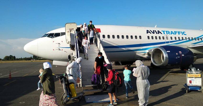 В Ош из Москвы вернулись 156 кыргызстанцев