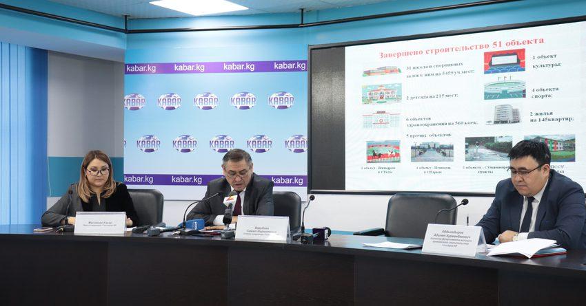 На капитальные вложения в 2019 году было выделено более 2 млрд сомов