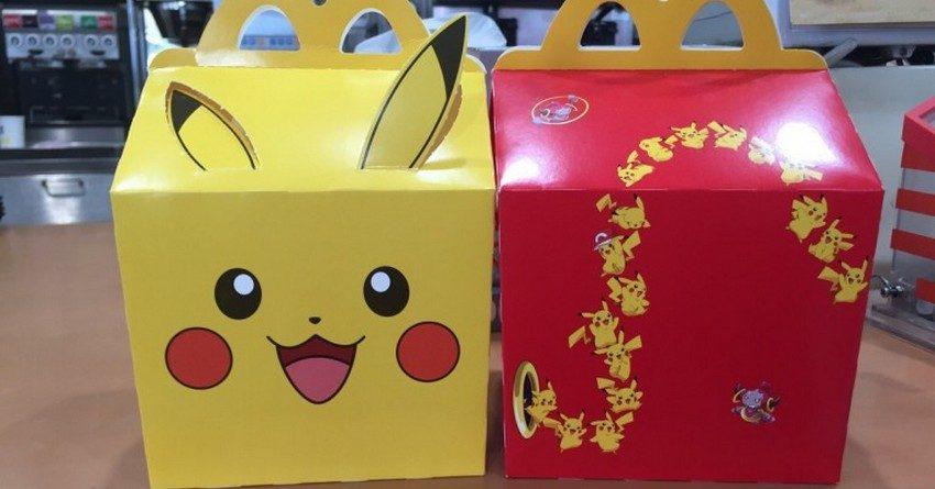 Акции японского McDonald's подскочили на 23% благодаря покемонам