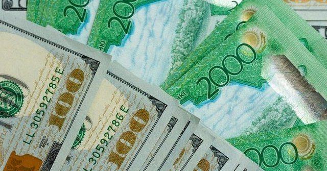 Тенге укрепился по отношению к доллару на 1.02%