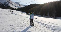В «Ак-Тюзе» состоялось открытие зимнего туристического сезона