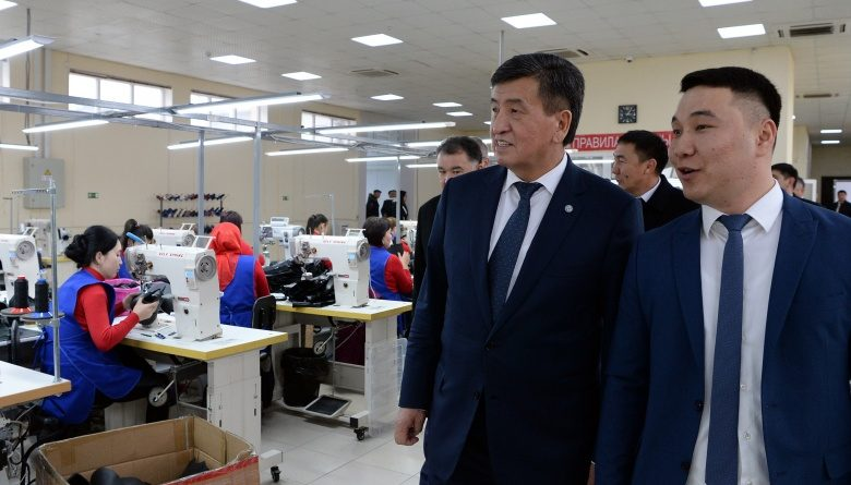 Жээнбеков ознакомился с работой «Агропродукт Азия» и «Империал групп Ко»