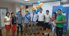 Первые победители акции «Счастливый перевод» получили призы!