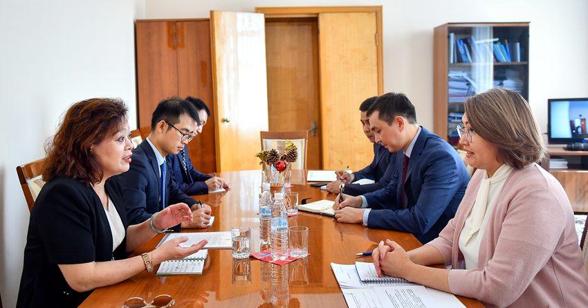 Кыргызстан и Китай  обсудили вопросы сотрудничества в сфере цифровых технологий