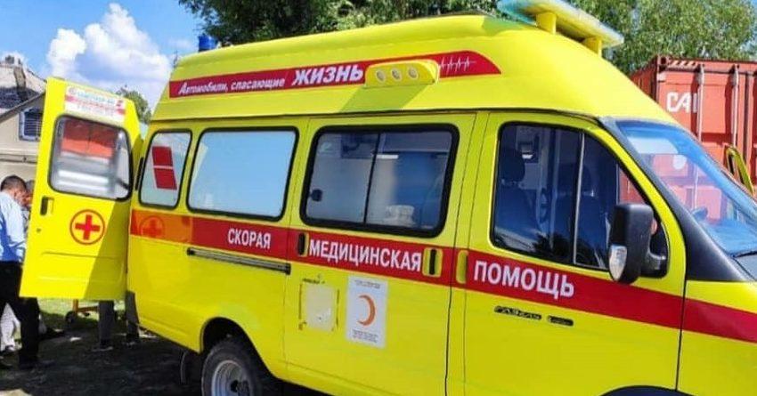 Красный Полумесяц передал машину скорой помощи для Иссык-кульской области