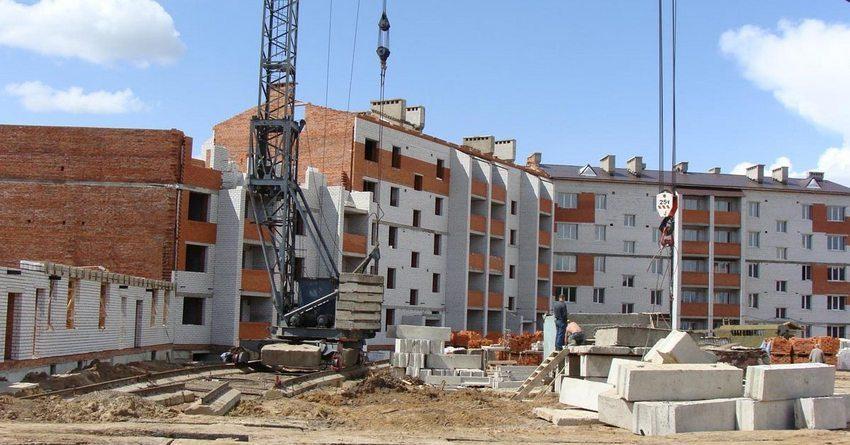 Объем ввода жилья в КР вырос за пять месяцев на 13.2%
