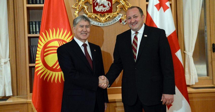 КР и Грузия заключили соглашения о взаимной поддержке инвестиций и избежании двойного налогообложения