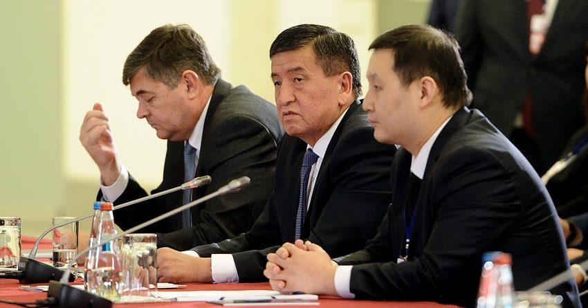 Жээнбеков: ЕАЭС нельзя расширяться пока сохраняются внутренние барьеры