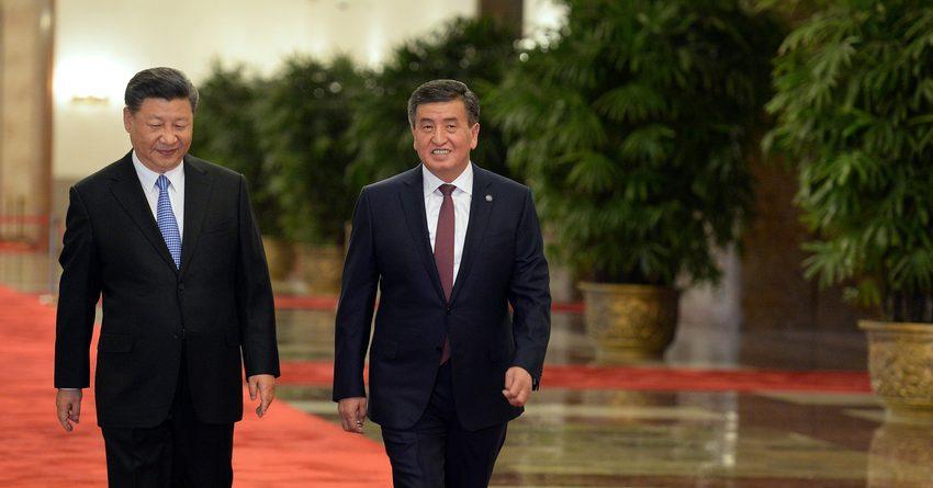 Во время речи президента отключилась трансляция: как проходит встреча Жээнбекова и Цзиньпина