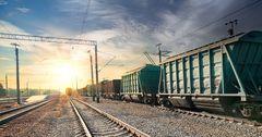 На украинско-российской границе задержано 72 вагона для Кыргызстана и Казахстана