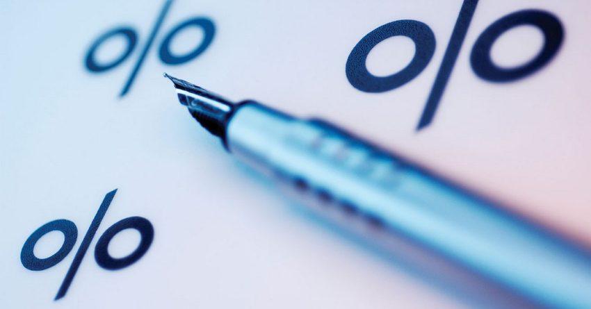 В июле средняя ставка по принятым депозитам незначительно выросла и составила 1.6%