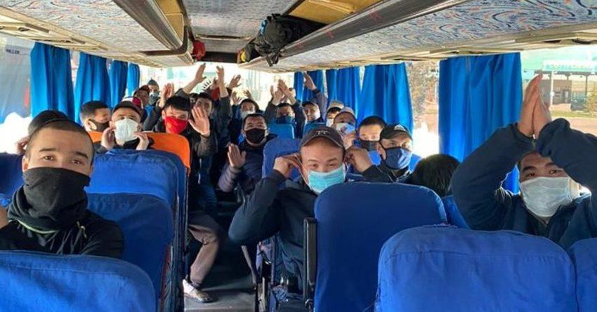 Соль-Илецктен 963 жаран автобус менен алынып келди
