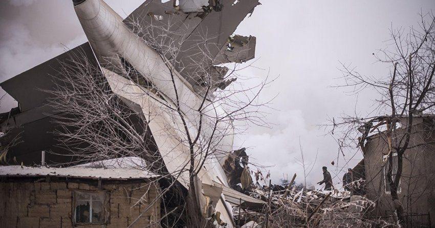 Турецкая ACT может получить от страховщиков до $38 млн за разбившийся под Бишкеком самолет