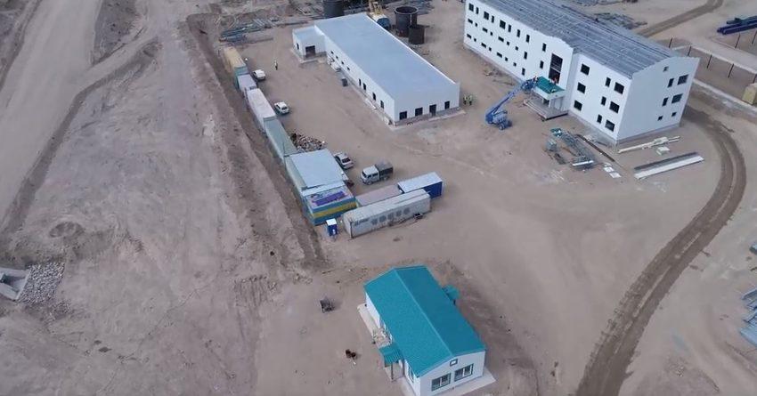 Как продвигается строительство ЗИФ на «Джеруе»? (видео)